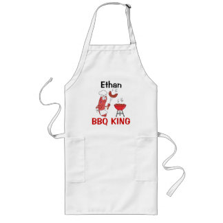 Ethan BBQ King Long Apron