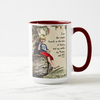 Ethan Family Tree Jumbo Coffee Mug