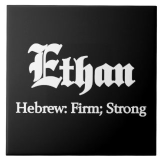 Ethan Meaning Tile