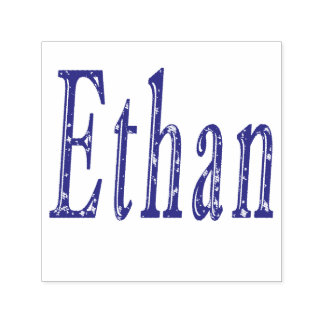 Ethan, Name, Logo, Self-inking Stamp