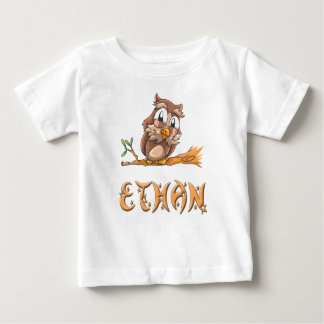 Ethan Owl Baby T-Shirt