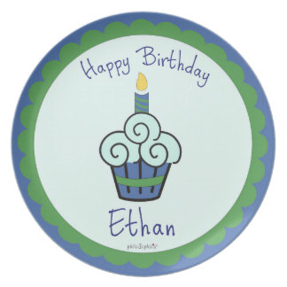 Ethan's Birthday Plate