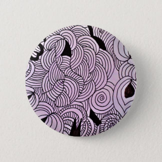 Ether Formation Green 2 Inch Round Button