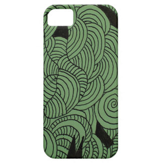 Ether Formation Green iPhone 5 Cases