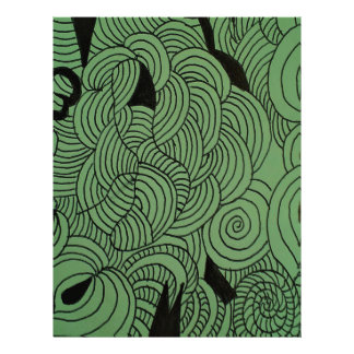 Ether Formation Green Letterhead