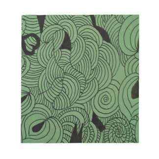Ether Formation Green Notepad