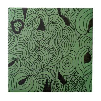 Ether Formation Green Tile