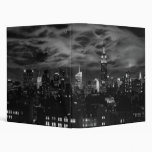 Ethereal Clouds: NYC Skyline, Empire State Bldg BW