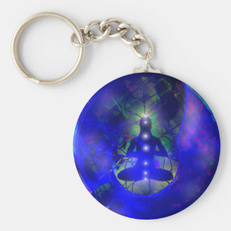ethereal contemplation - key chain