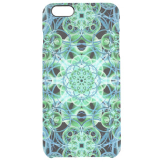 Ethereal Growth Mandala Clear iPhone 6 Plus Case