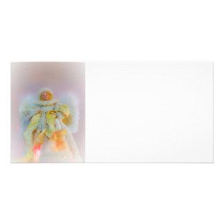 Ethereal Guardian Angel Photo Card