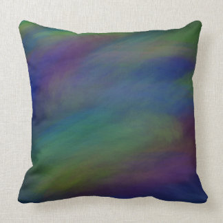 Ethereal in Cool Tones Throw Pillow