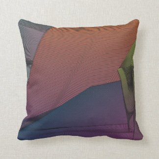 Ethereal Line Throw Pillow