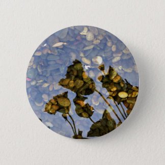Ethereal Lotus 2 Inch Round Button