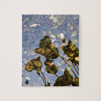Ethereal Lotus Jigsaw Puzzle