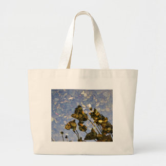 Ethereal Lotus Large Tote Bag