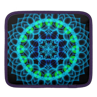 Ethereal Lotus Mandala Sleeves For iPads
