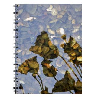 Ethereal Lotus Spiral Notebook