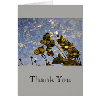 Ethereal Lotus-Thank You Card