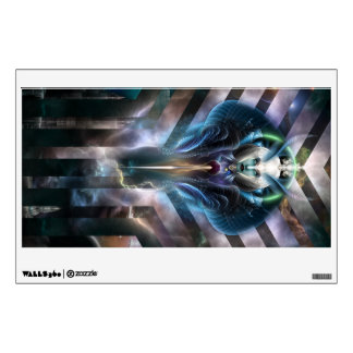 Ethereal Queen Of Galaxy Walls360 Decal