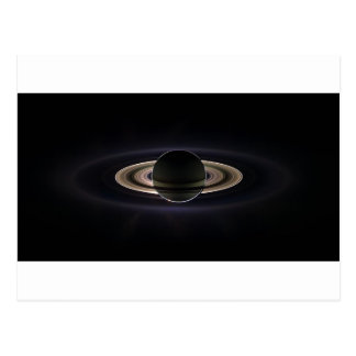 Ethereal Saturn` Postcard
