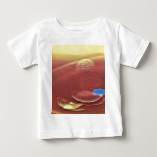 Ethereal Sci-fi Alien Planets Baby T-Shirt