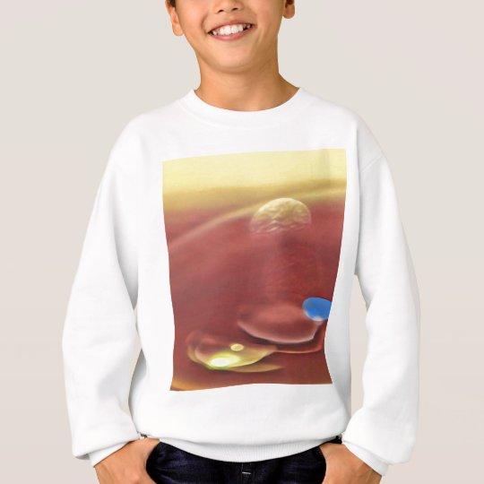 Ethereal Sci-fi Alien Planets Sweatshirt