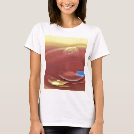 Ethereal Sci-fi Alien Planets T-Shirt
