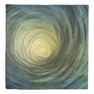 Ethereal Spiral - Duvet Cover