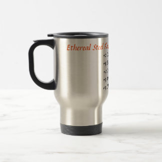 Ethereal Steel Flask of Warming Travel Mug