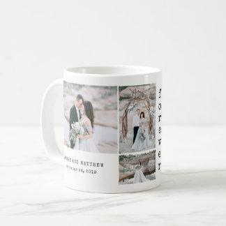 Ethereal Wedding   4 Photo Collage Coffee Mug