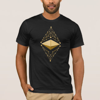 Ethereum Classic Gold (no text) T-Shirt