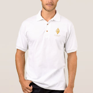 Ethereum Classic Simple (gold) Polo Shirt