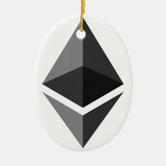 Ethereum - Cryptocurrency Super PAC Ceramic Ornament