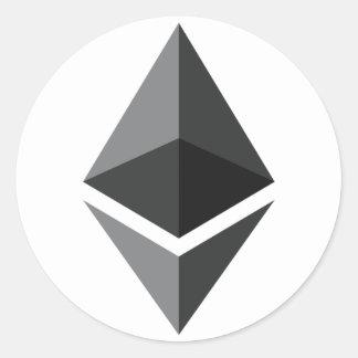 Ethereum - Cryptocurrency Super PAC Classic Round Sticker