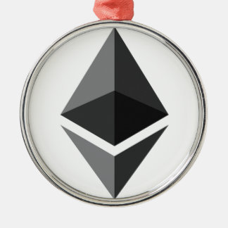 Ethereum - Cryptocurrency Super PAC Metal Ornament