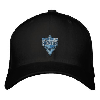 Ethereum Frontier original blue embroidered cap