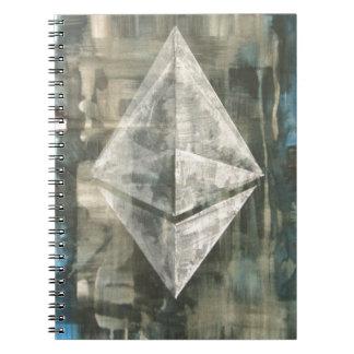 Ethereum Spiral Notebook