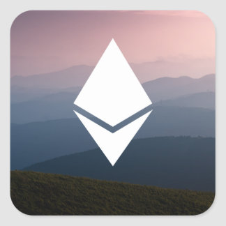 Ethereum Square Sticker