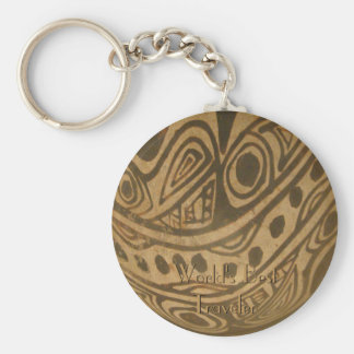 Ethic Museum Bowl Design Keychain