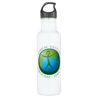Ethical Culture Earth Day Water Bottle