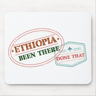 Ethiopia Been There Done That Mouse Pad