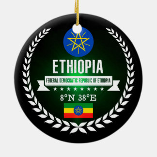 Ethiopia Ceramic Ornament