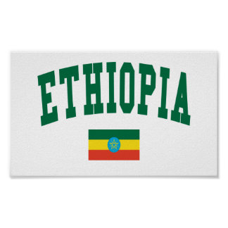 Ethiopia College Style Poster