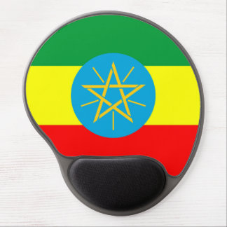 ethiopia country flag long symbol gel mouse pad
