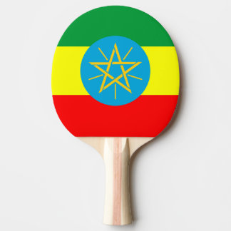 ethiopia country flag long symbol ping pong paddle