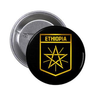 Ethiopia Emblem 2 Inch Round Button