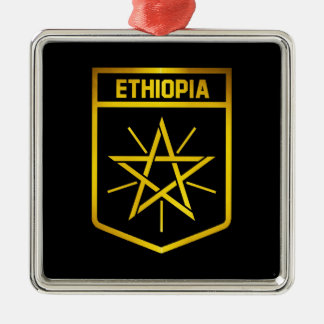 Ethiopia Emblem Metal Ornament