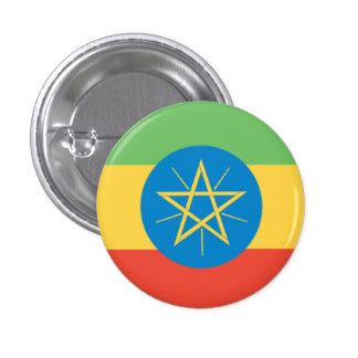 Ethiopia Flag 1 Inch Round Button