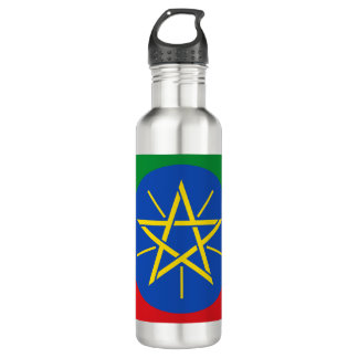 Ethiopia Flag 710 Ml Water Bottle